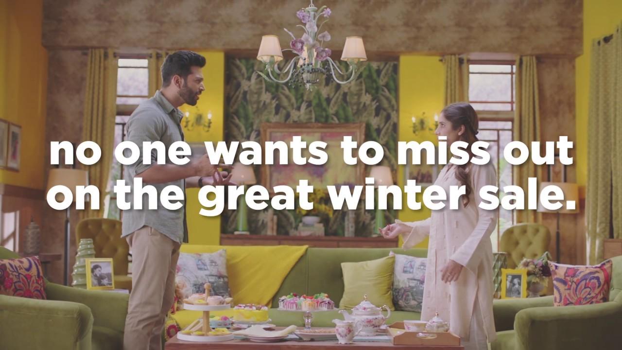Gul Ahmed Ideas Winter Sale series video 1