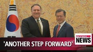 Pompeo says he had 'good, productive conversations' with North Korea's Kim Jong-un