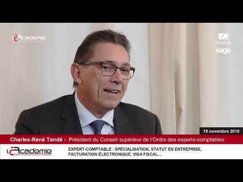 """Les Entretiens de l'Académie // Série """"Audit"""" : Charles-René Tandé/CSOEC (8/8)"""