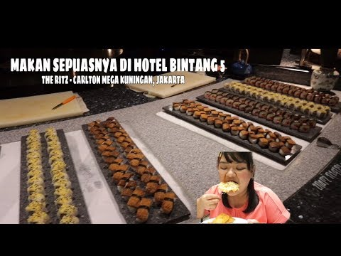 MAKAN SEPUASNYA DI HOTEL BINTANG 5 : The Ritz-Carlton Jakarta, Mega Kuningan