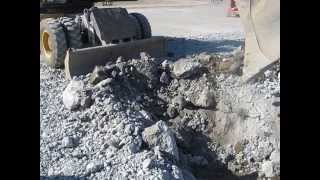 Griffiss Int'l Airport, Rome, NY, Rubblization and Concrete Milling