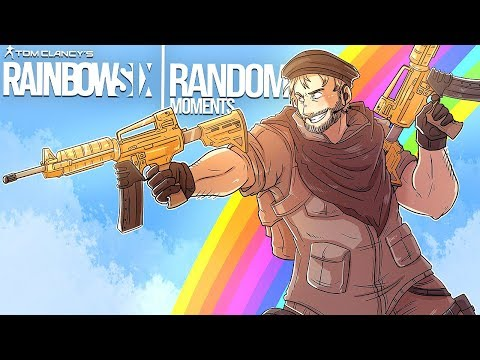 Rainbow Six Siege - Random Moments: #38 (Ninja Clash, 200 IQ PLAY!)