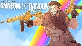 Rainbow Six Siege - Random Moments: #38 (Ninja Clash, 200 IQ PLAY!)