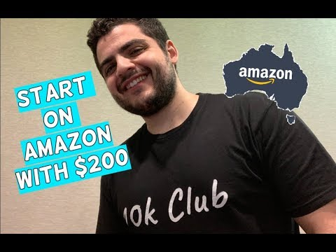 How To Start An Amazon FBA Business With Only $200