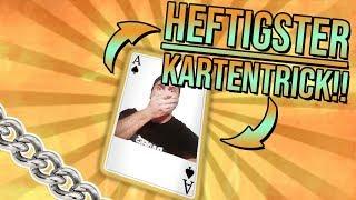 WIR WERDEN VERARSCHT! | HEFTIGSTER KARTENTRICK!