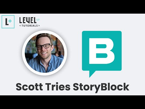 Scot Tries StoryBlok - Headless CMS with a Visual Editor