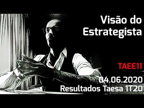 04.06.2020 - Visão do Estrategista - Resultados Taesa 1T20 - TAEE11