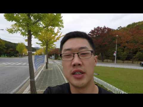 Кампус корейского университета HUFS