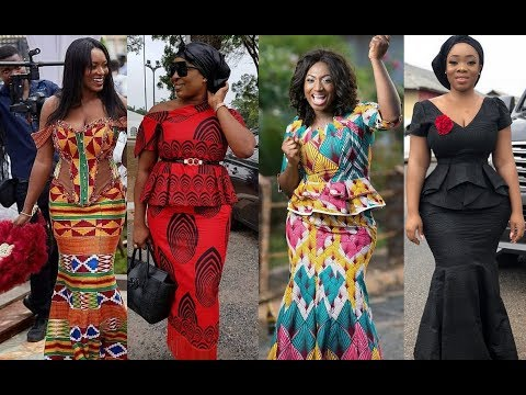 African Wear Dresses: Latest Kaba And Slit Styles For Any Occasion In #2019