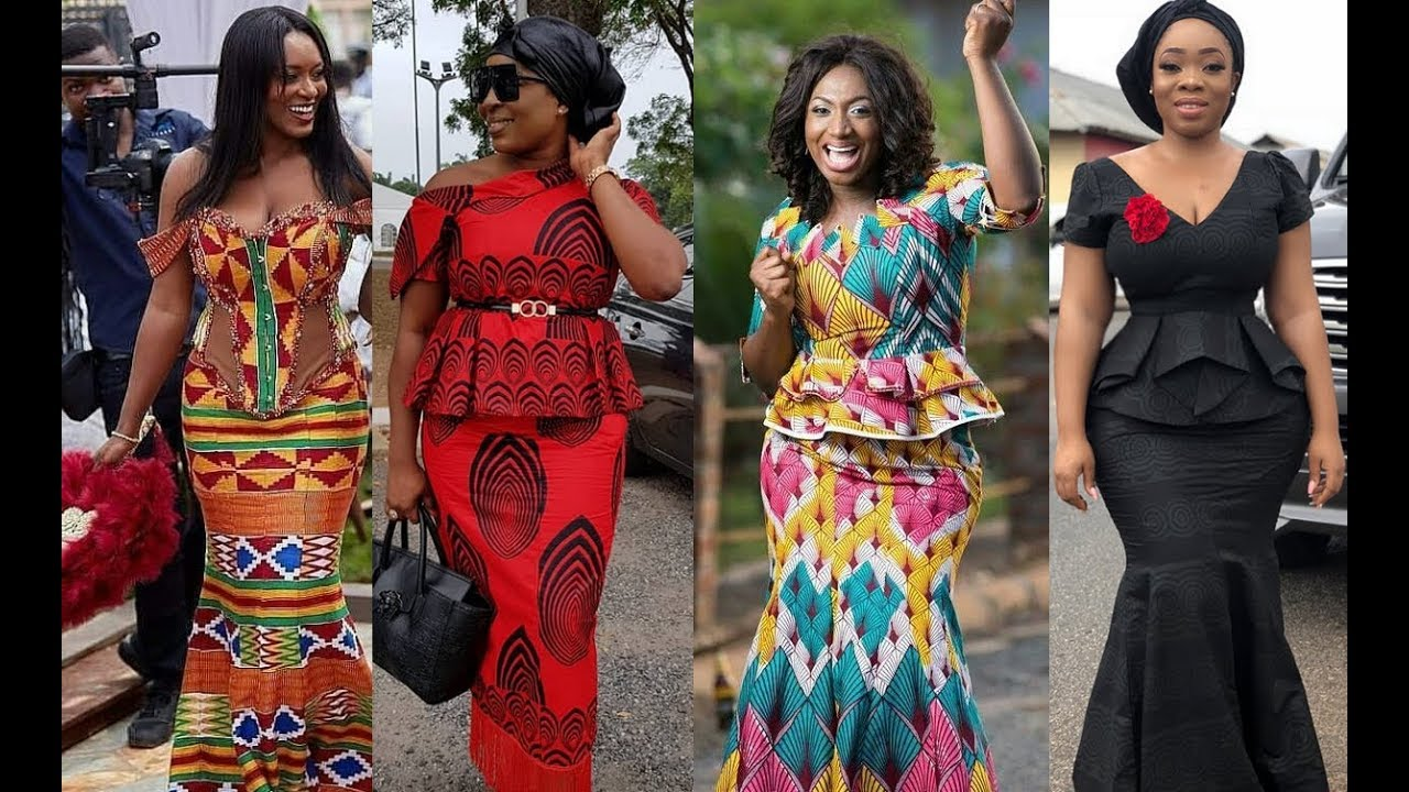 African Wear Dresses: Latest Kaba And Slit Styles For Any