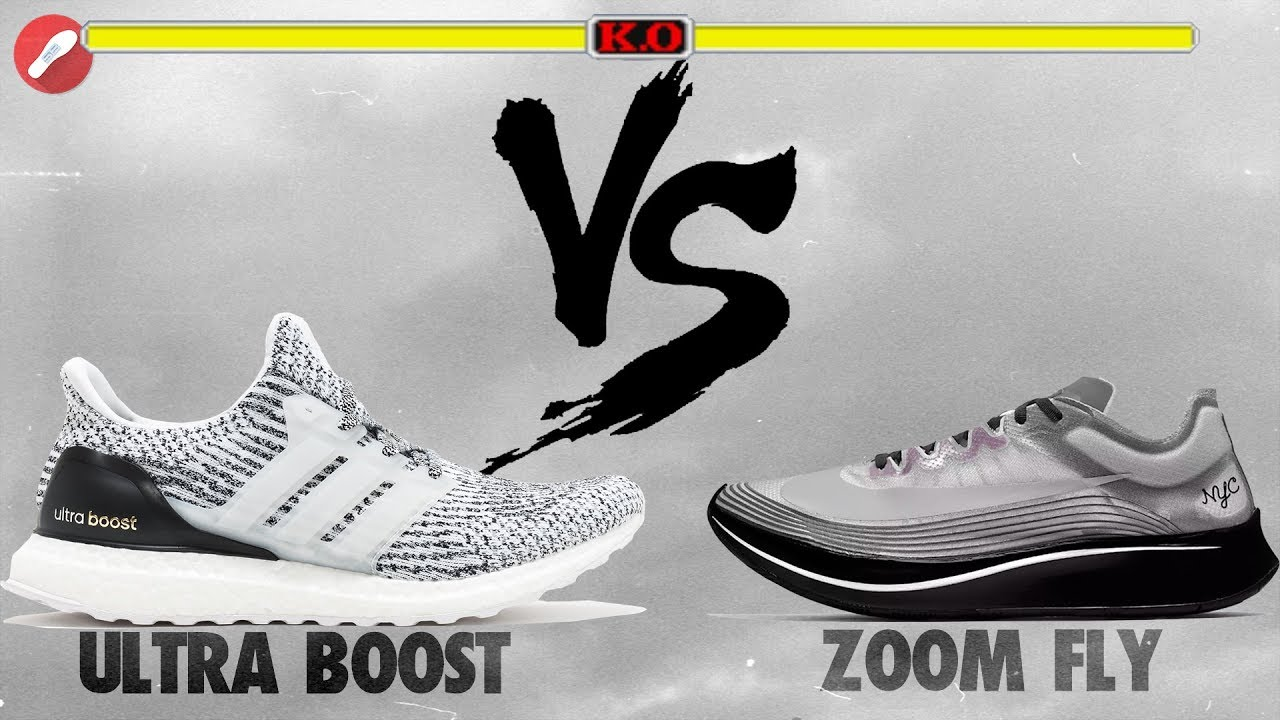 Adidas UltraBoost vs Nike Zoom Fly! What's More Comfy?!
