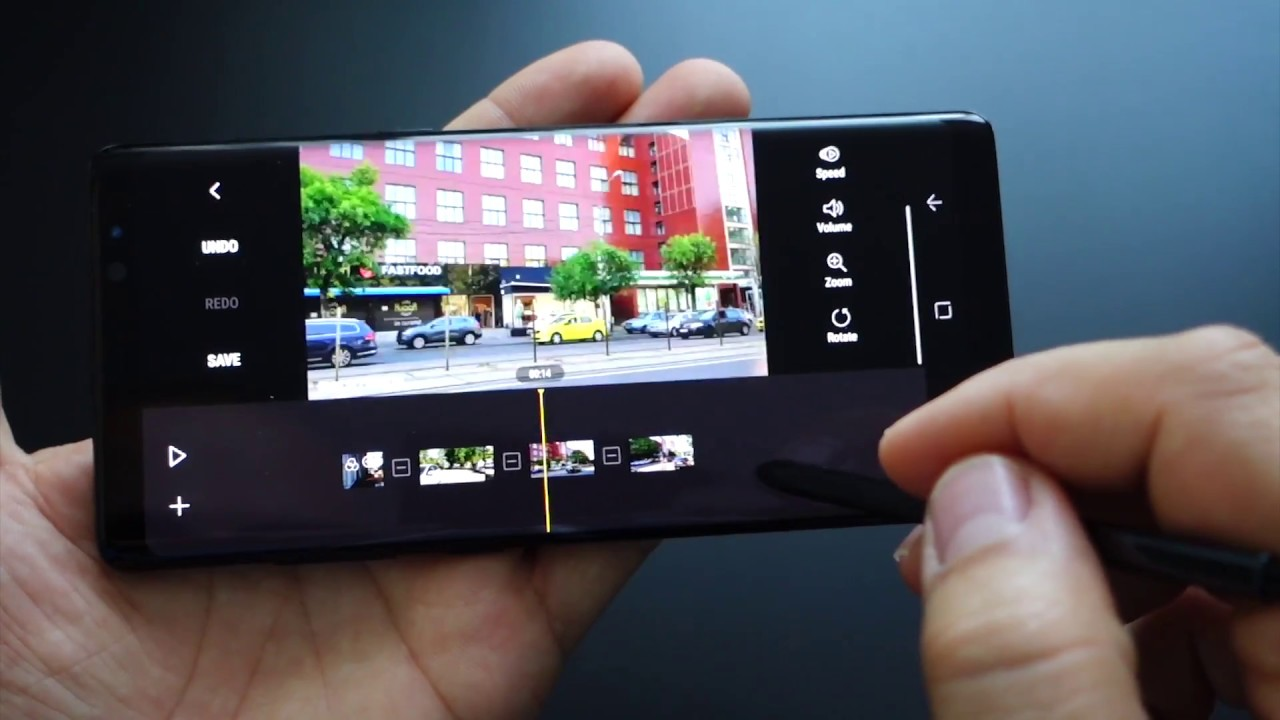 Galaxy note 8 editare video cu movie maker youtube for Galaxy maker