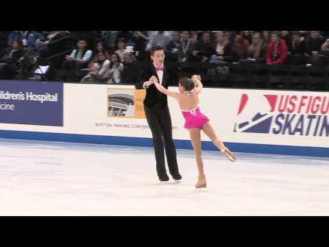 2014 prudential u s figure skating championships intermediate pairs fs 09   Megan Griffin Andrew Civ