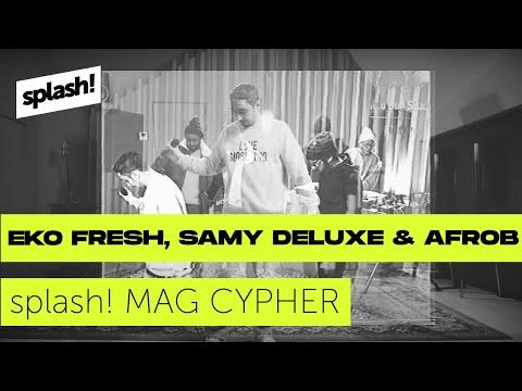 splash! Mag Cypher #26: Eko Fresh, Samy Deluxe & Afrob Red Bull Soundclash Special