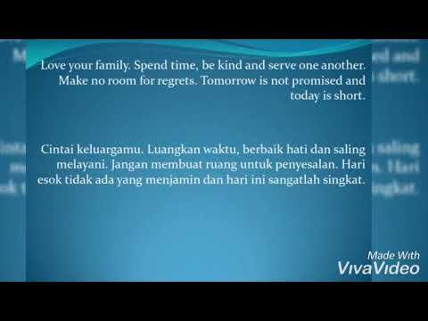 Kata Mutiara Islam Tentang Keluarga Dan Rumah Tangga