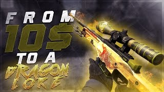 Video CSGO - FROM 10$ TO A DRAGON LORE ! download MP3, 3GP, MP4, WEBM, AVI, FLV Maret 2018