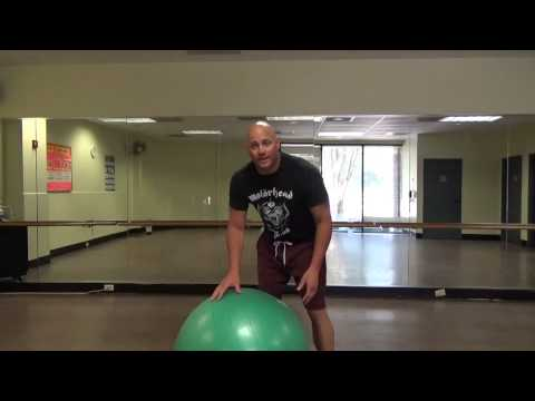 Core training for BJJ- Stability Ball