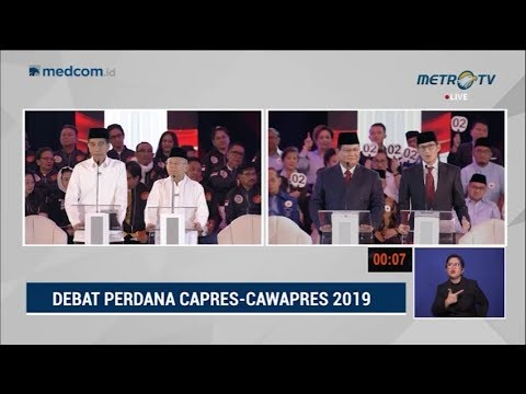 Debat Pilpres 2019 Part 3 - Jokowi Jawab Tuduhan Sandi Soal HAM Mp3
