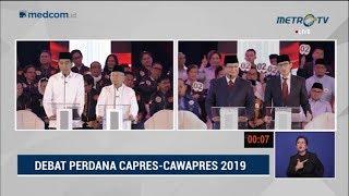 Debat Pilpres 2019 Part 3 - Jokowi Jawab Tuduhan Sandi Soal HAM