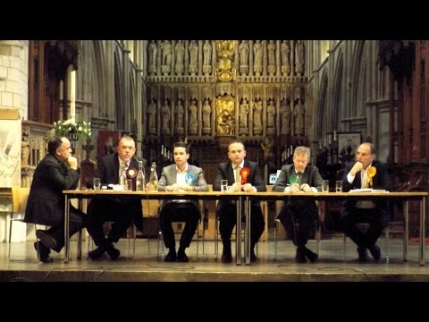 Bermondsey & Old Southwark Hustings at Southwark Cathedral