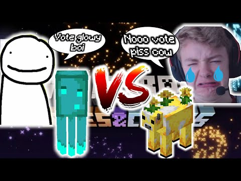 DREAM adds Glow Squid to Minecraft, TOMMYINNIT Cries: moobloom is eliminated | #MinecraftLive2020