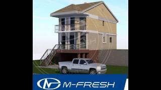 Эскизный проект узкого дома для узкого участка M-fresh Novella(, 2016-12-04T06:00:01.000Z)