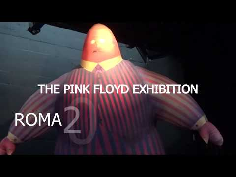 THE PINK FLOYD EXHIBITION - ROMA 2018 - PRESS CONFERENCE 16 GEN.