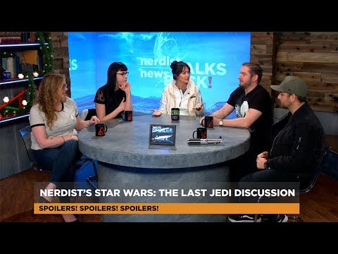 Nerdist SPOILER FILLED Star Wars The Last Jedi Breakdown! (Nerdist News Talks Back)