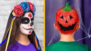 9 Cute Hairstyles For Kids / Halloween Hairstyles