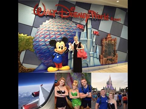 Disney Vlog Travel Day 1 | Magic Kingdom | Virgin Atlantic from Glasgow Airport