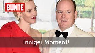 Charlène & Albert von Monaco: Inniger Moment! - BUNTE TV