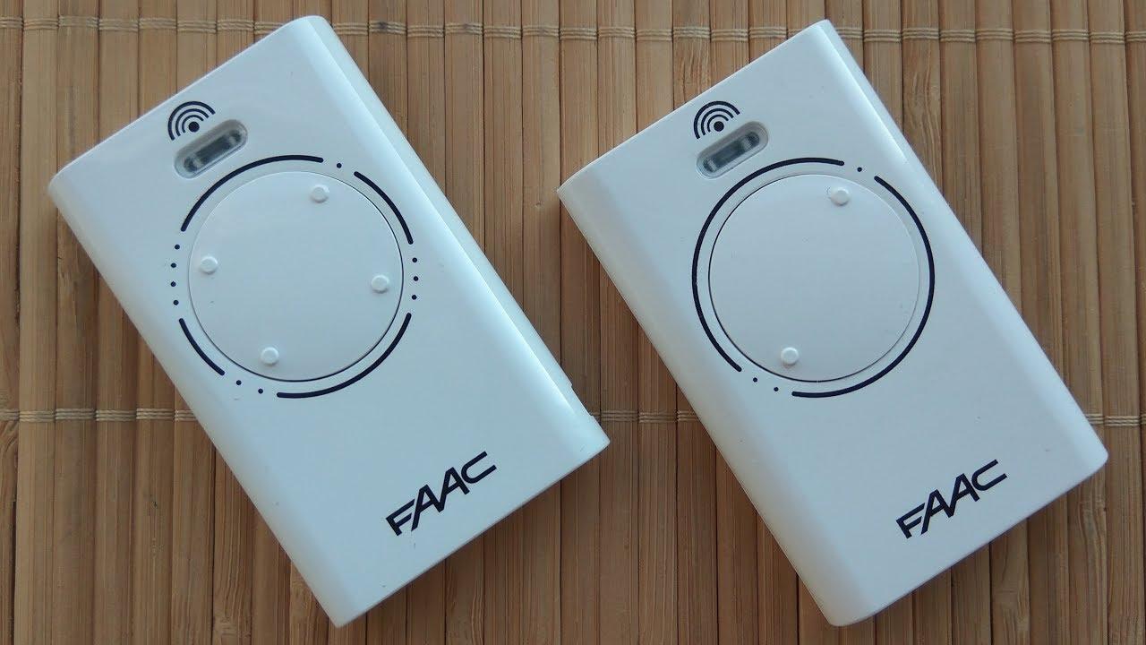 Как самому настроить пульт FAAC 868 SLH. Брелок на автоматические ворота (шлагбаум) FAAC