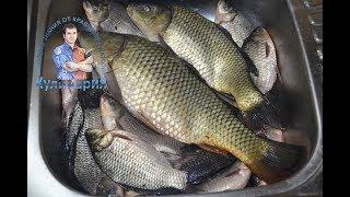 Как отделить рыбу от костей для фарширования или котлет