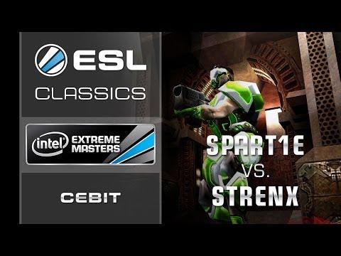 ESL Classics: Spart1e vs. strenx - 3rd place decider - IEM CeBIT 2011 - Quake Live