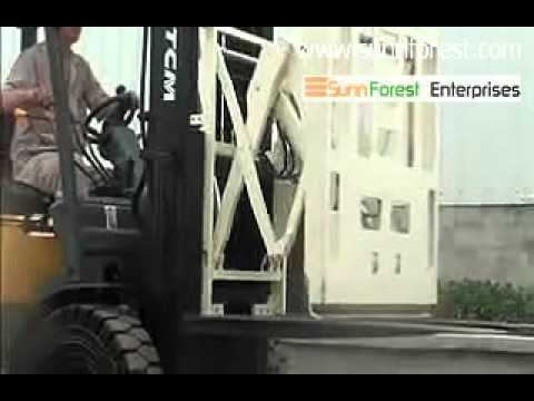TCM Forklift Push & Pull Attachment