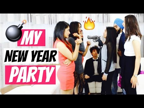 My New Year Party!
