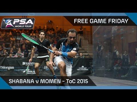 Squash: Free Game Friday - Shabana v Momen - ToC 2015