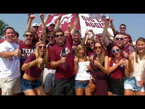 Tailgate Fan: Texas A&M University