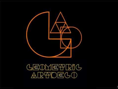 Geometric Art Deco Font