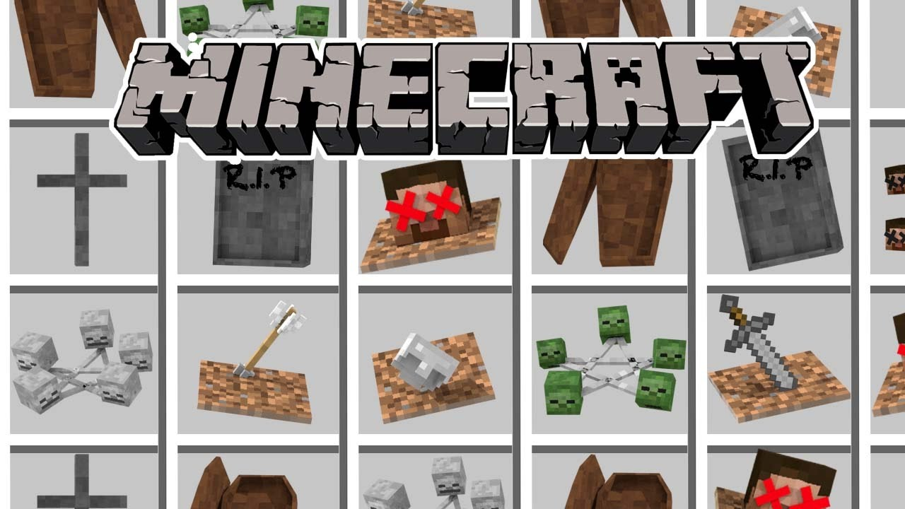 Minecraft | WHERE DO THE DEAD GO? Gravestone Mod (Ritual ...
