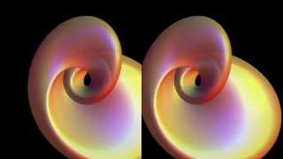 Stereoscopic 4D Klein Bottle