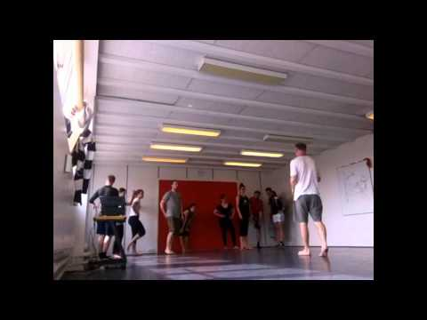Movement Class at CISPA (Copenhagen International School of Performing Arts)