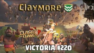 Claymore - WARLORD - Victoria #220 (Clash Of Clans)