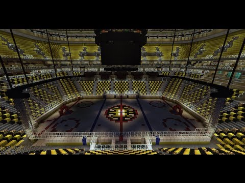 TD Garden - Minecraft (HD) - Boston Bruins Hockey Arena Tour