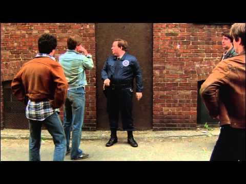 Leslie Barbara fight, Police Academy (1984)