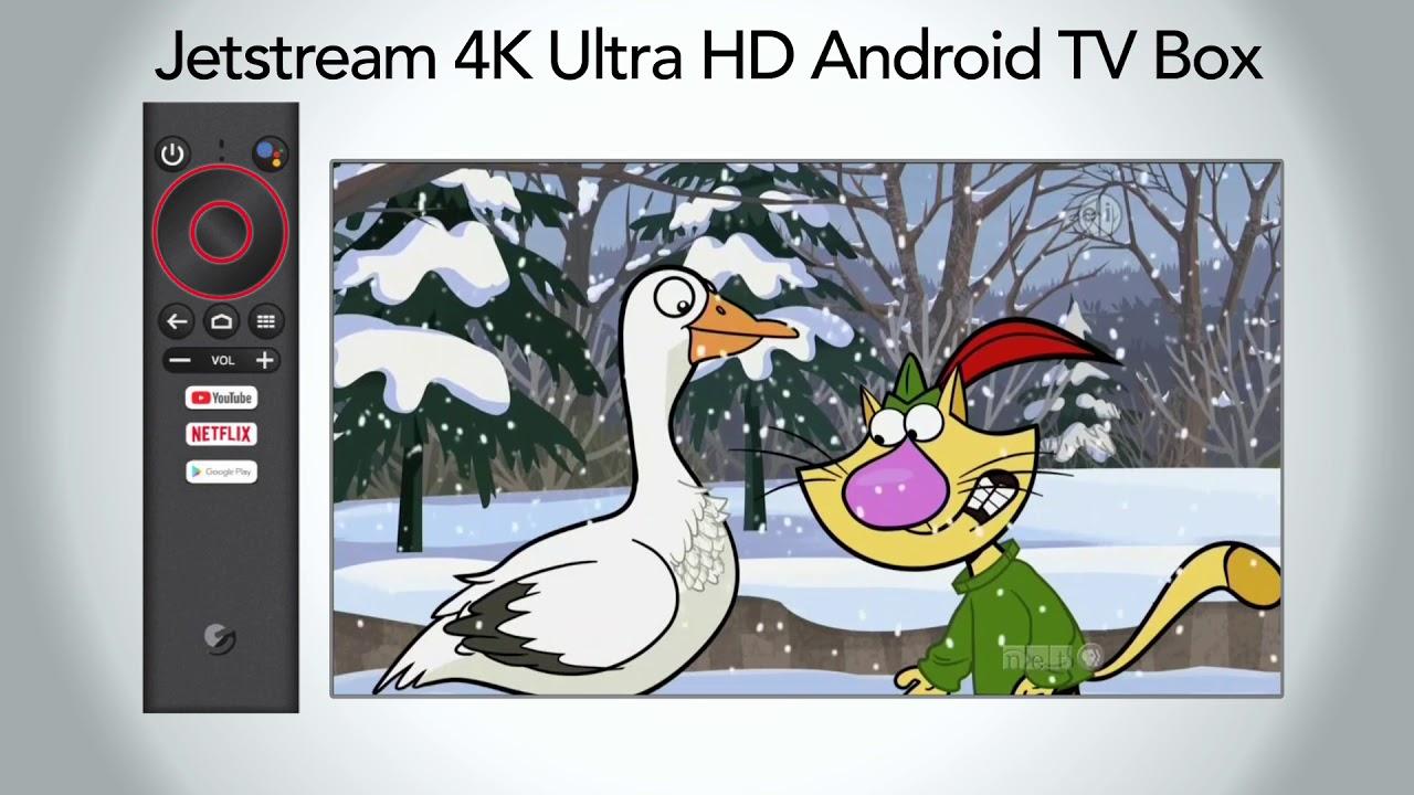 Jetstream 4K Ultra HD Android TV Box