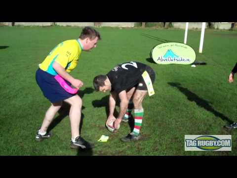 Tag Rugby - The Roll Ball