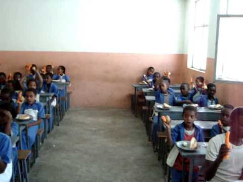 Lunch in School, Gonder, Ethiopia