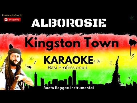 KINGSTON TOWN (Alborosie) BASE KARAOKE Professionale + CORI e TESTO Hd