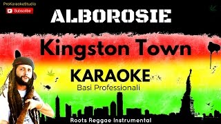 KINGSTON TOWN (Alborosie) BASE KARAOKE Professionale + CORI e TESTO Hd